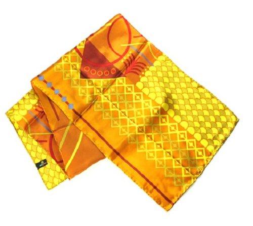 Geometrics in Orange - Pangborn Design Scarf 11017 - Pangborn Design Scarf