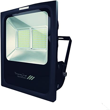 Threeline PRG Proyector Foco LED, 100 W, Blanco Neutro: Amazon.es ...