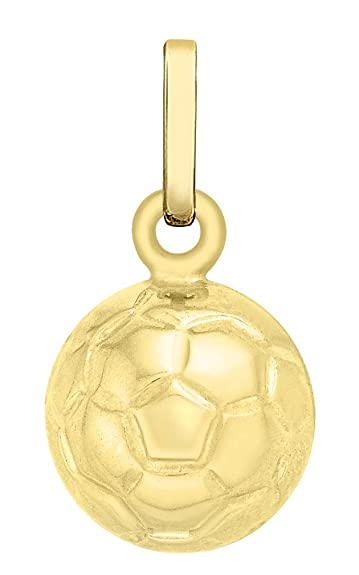 Carissima gold 9ct yellow gold football charm pendant amazon carissima gold 9ct yellow gold football charm pendant aloadofball Image collections