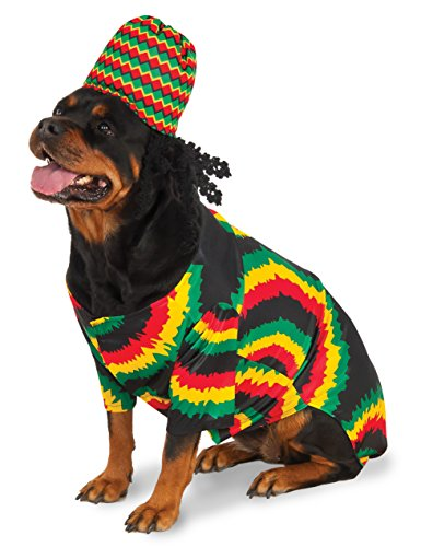 Pitbull Halloween Costumes (Rasta Big Dog Boutique, XX-Large)