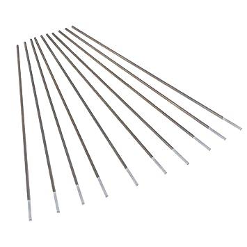 homyl 10 piezas electrodos Barra tungsteno circonio Soldadura de arco Argon Protección: Amazon.es: Bricolaje y herramientas