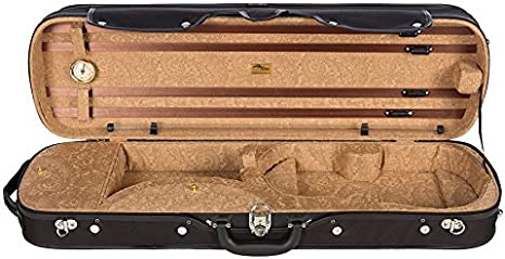 Estuche para violín madera 4/4 Paisley honey M-Case: Amazon.es: Instrumentos musicales