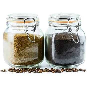 Amazon Com Galashield Glass Jars With Airtight Lids Leak