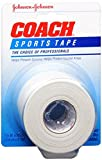 JOHNSON & JOHNSON Coach Sports Tape 1-1/2 Inches X 10 Yards (Pack of 4)