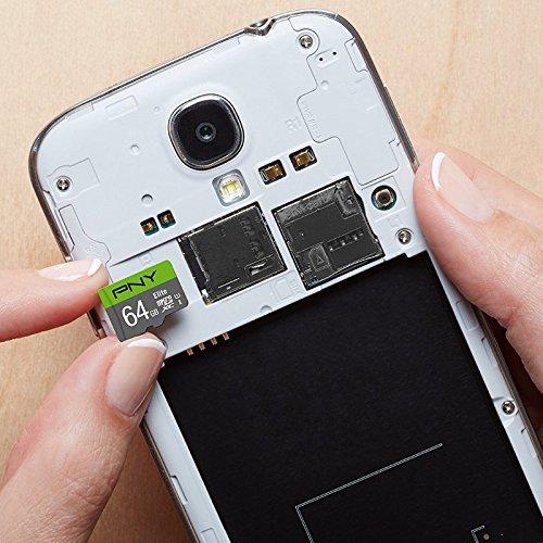 PNY 64GB Elite Class 10 U1 microSDXC Flash Memory Card