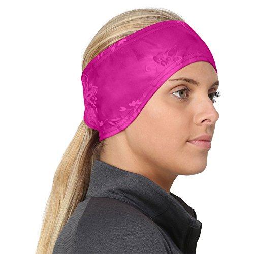 TrailHeads Women's Print Ponytail Headband – 12 prints - Made in USA - pink splash by TrailHeads (Image #8)