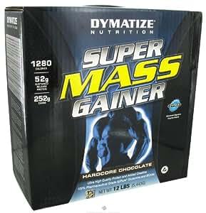 Dymatize Super Mass Gainer Hardcore Chocolate 12 Lbs (5443 G)