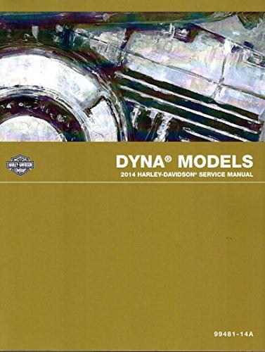 2014 Harley-Davidson Dyna Models Service Shop Repair Manual, Official Factory Manual, Part Number 99481-14 (Motorcycle Custom Wiring)