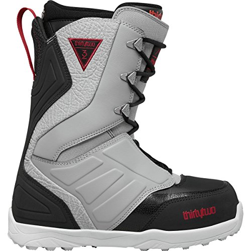thirtytwo Lashed '17 Snowboarding Boot, Grey/Black/Red, 11