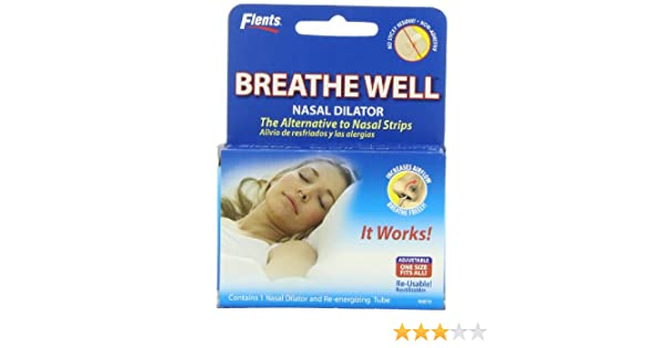 Amazon.com: Flents By Apothecary Products, Inc. Flents Breathe Well Nasal Dialator - Alternative To Nasal Strips, (Pack of 6): Health & Personal Care