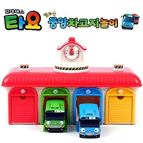 [SET] Tayo The Little Bus Chibikko bus Tayo bus garage play set [parallel import goods] (Tayo The Little Bus Garage)