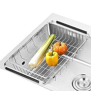 Sanno sostenedor ajustable del estante del dren del plato for Soporte platos cocina