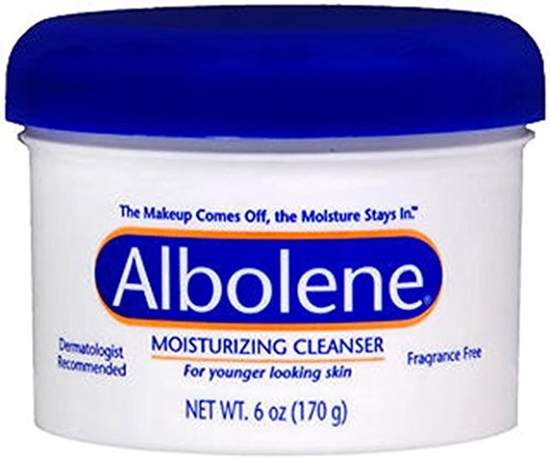 Albolene Unscented Moisturizing Cleanser, 6 Ounce