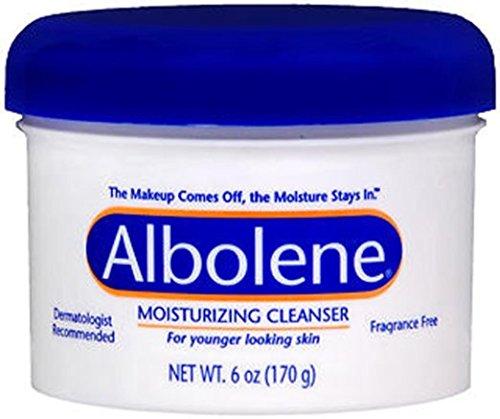 Albolene Unscented Moisturizing Cleanser, 6 Ounce (Cleanser Albolene)