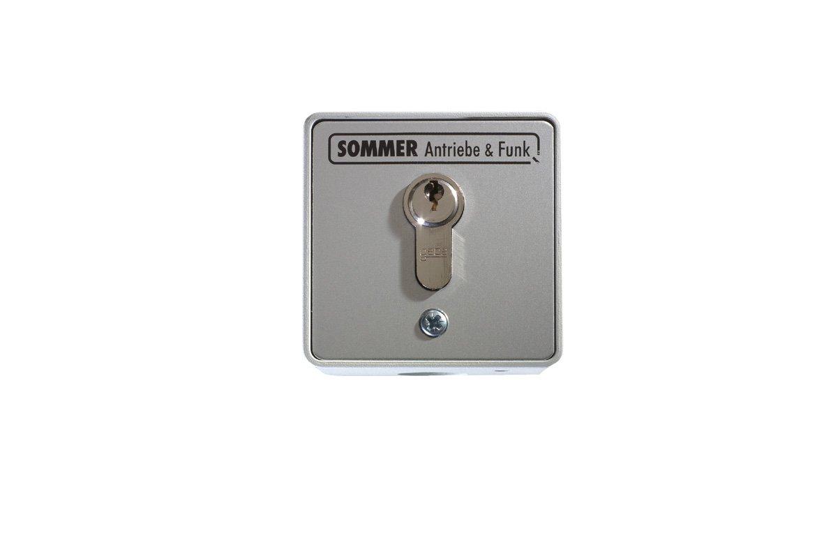 aP Taster 4015862050083 Sommer Schl/üsseltaster 5008V000 2Kont.m.Zyl