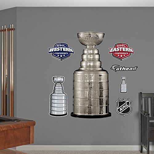 NHL Stanley Cup Trophy Wall Decal by Fathead Peel and Stick Decals