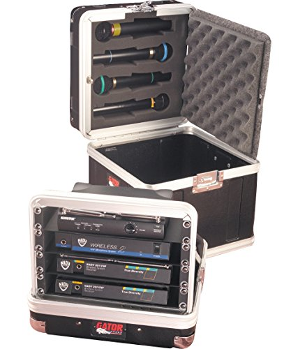 Gator GM-4WR Microphone Case (4 Wireless Mic System Case)