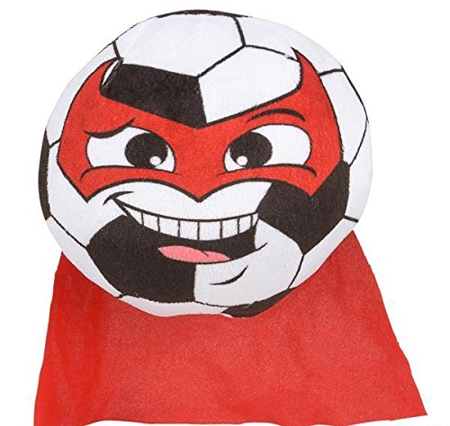 7'' SUPER HERO SOCCER, Case of 24 by DollarItemDirect