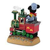 Hallmark Keepsake 2017 Disney Mickeys Magical Railroad Sound Repaint Christmas Ornament With Light and Motion