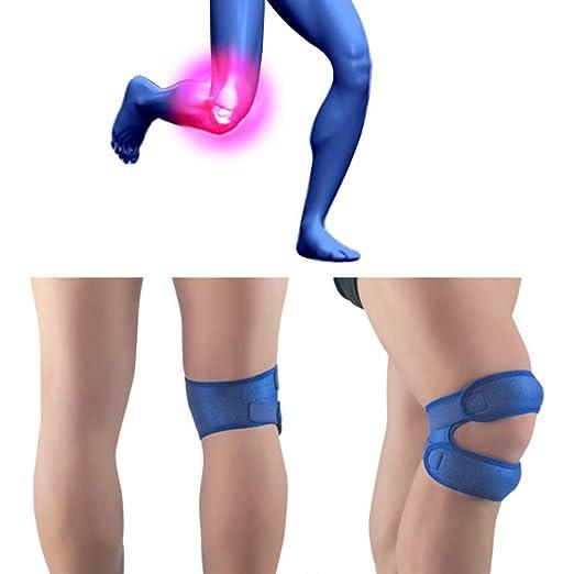Auplew Patella Bandage Knee Strap Knee Strap Protector de Rodilla ...