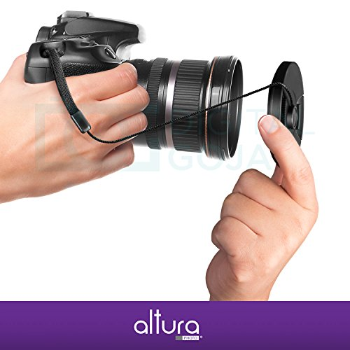 58mm Vivitar Professional UV CPL FLD Lens Filter and Close-Up Macro Accessory Kit for Lenses with a 58mm Filter Size