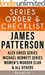 James Patterson Series Order & Checkl...
