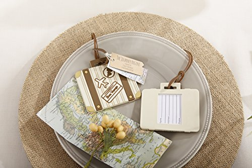 Kate Aspen Vintage Suitcase Bundle of 12 Luggage Tags, Multi-Colored by Kate Aspen (Image #1)