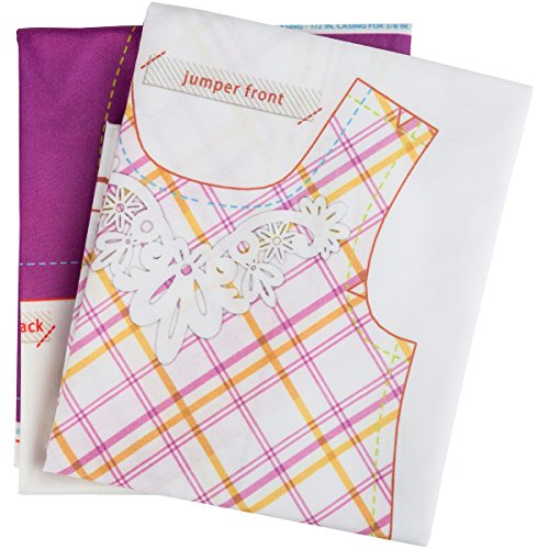 Wright Products 18'' Doll Clothes To Cut & Sew-Sugar & Spice by Wright Products