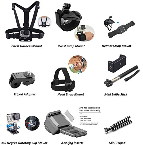51m1G5l0OWL - Nomadic Gear 55-in-1 Action Camera Accessories Kit for GoPro, Sony Action Camera, Garmin, Ricoh Action Cam, SJCAM, iPhone and Android   Epic Photo Shooting 101 ebook