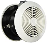 Broan 512 Room-to-Room Wall Utility Fan, 6-Inch 90 CFM 3.5 Sones, White Round Plastic Grille