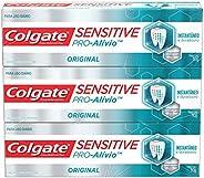 Creme Dental Colgate Sensitive Pro-Alívio 110g Promo 3un com Desconto