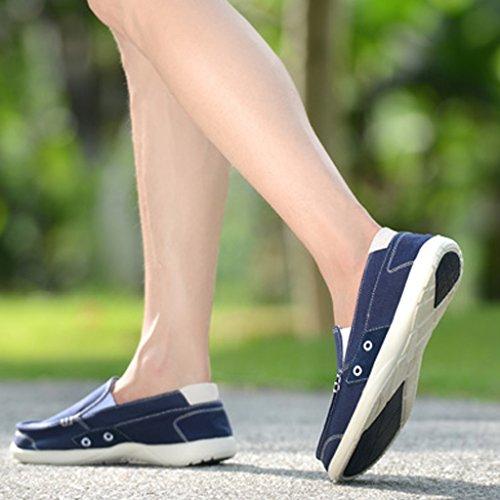 selvagge Size Blue Dark da stile basse scarpe nuove scarpe Color tavola Dark 45 Scarpe da uomo traspirante blue da estiva Scarpe tendenza uomo Espadrillas scarpe di tela casual ZpSBwp7q