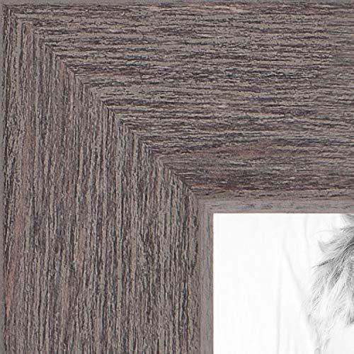 ArtToFrames WOM0066-77900-YGRY-12x24 Barnwood Wood Picture Frame, 12 x 24