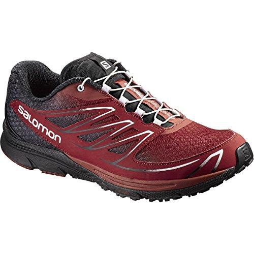 Salomon Men's Running Shoes, Flea/Black, 7.5