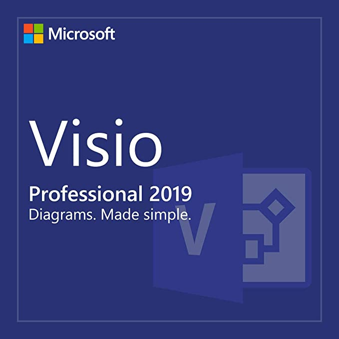MS Visio Professional 2016 Brand New Genuine License Key for 1 PC