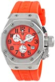 Swiss Legend Women's 10535-06 Trimix Diver Chronograph Orange Dial Orange Silicone Watch
