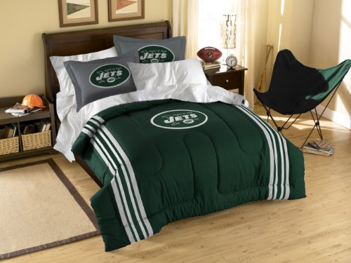 The Northwest Company NFL New York Jets Twin/Full Size Comforter with Sham Set