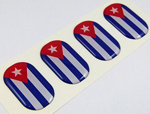 cuban flag car decal - 3