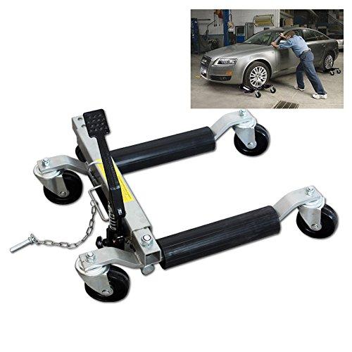 HG® Rangierheber Rangierhilfe 12' PKW hydraulisch Wagenheber Auto Rangierroller 680Kg huigou