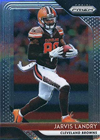 new concept 721b6 6b536 2018 Panini Prizm #155 Jarvis Landry Cleveland Browns Football Card