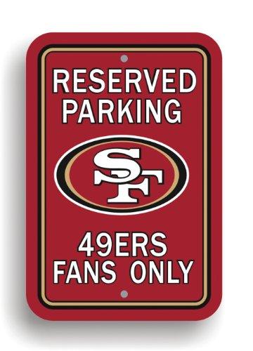 NFL Plastic Parking Sign