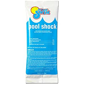 In The Swim Chlorine Pool Shock 6 X 1 Lb Bags Pool Supplies Garden Outdoor