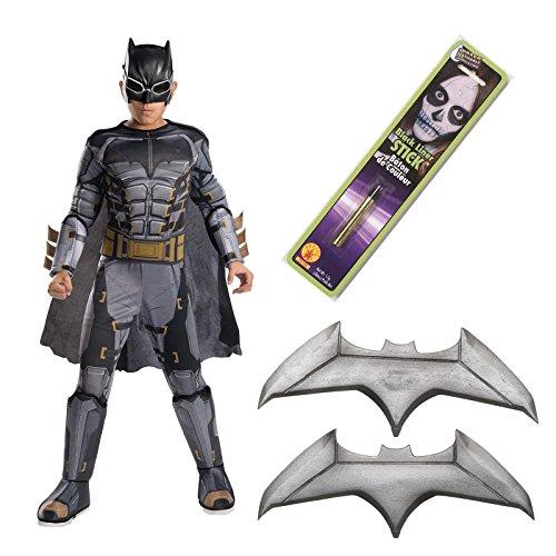 Batman Costumes Movie (Justice League Movie - Tactical Batman Deluxe Children's Costume Kit)