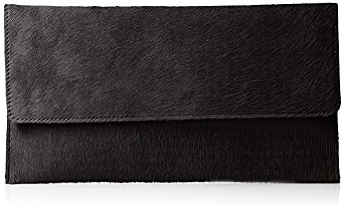 Latico Furbulous Clutch, Black, One Size ()