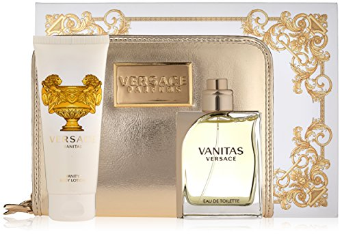 Versace Vanitas Eau de Toilette Spray Gift Set for Women, 3 Count
