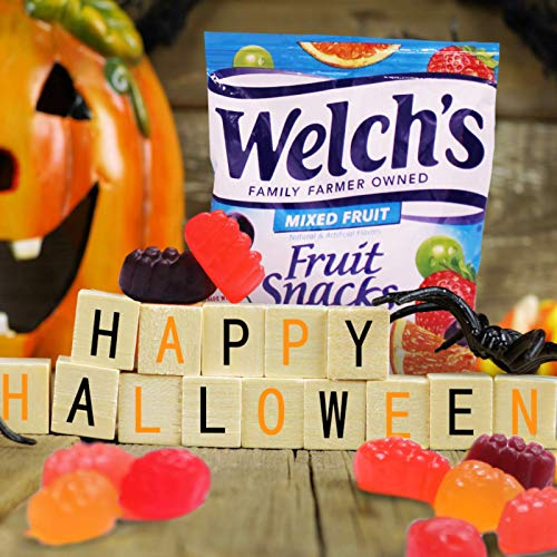 Welch's Fruit Snacks, Mixed Fruit, Gluten Free, Bulk Pack, 1.55 oz Individual Single Serve Bags (Pack of 144)