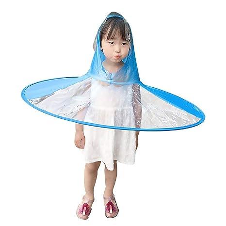 Kintaz Creative UFO - Sombrero Impermeable de Manos Libres ...