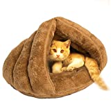 Pet Cat Bed Big Warm House Sleeping Bag Sleep Zone For Puppy Cat...
