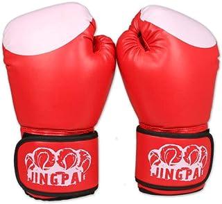 Shengshihuizhong Gants de Boxe, Gants Sanda, Gants pour Sacs de Sable pour Adultes, Ensembles de Boxe pour entraînement de Combat, Haute qualité Derniers modèles