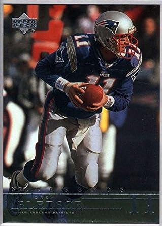 huge selection of b694b 6478a Amazon.com: Football NFL 2001 Upper Deck Legends #49 Drew ...